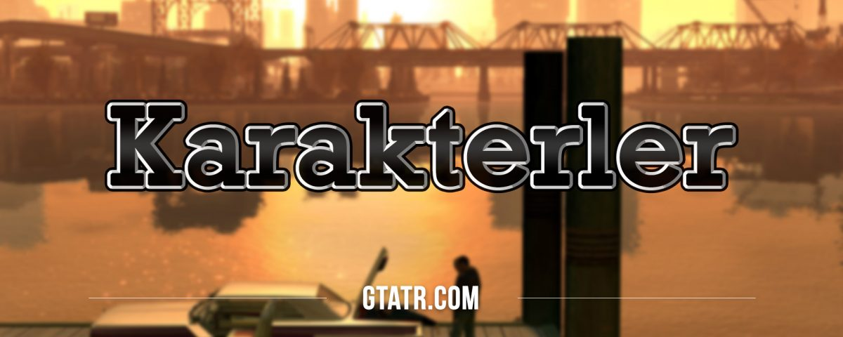 Grand Theft Auto IV: Karakterler