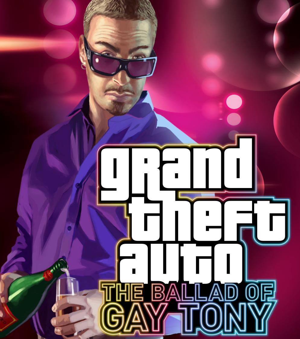 GTA 4 The Ballad of Gay Tony Kapak