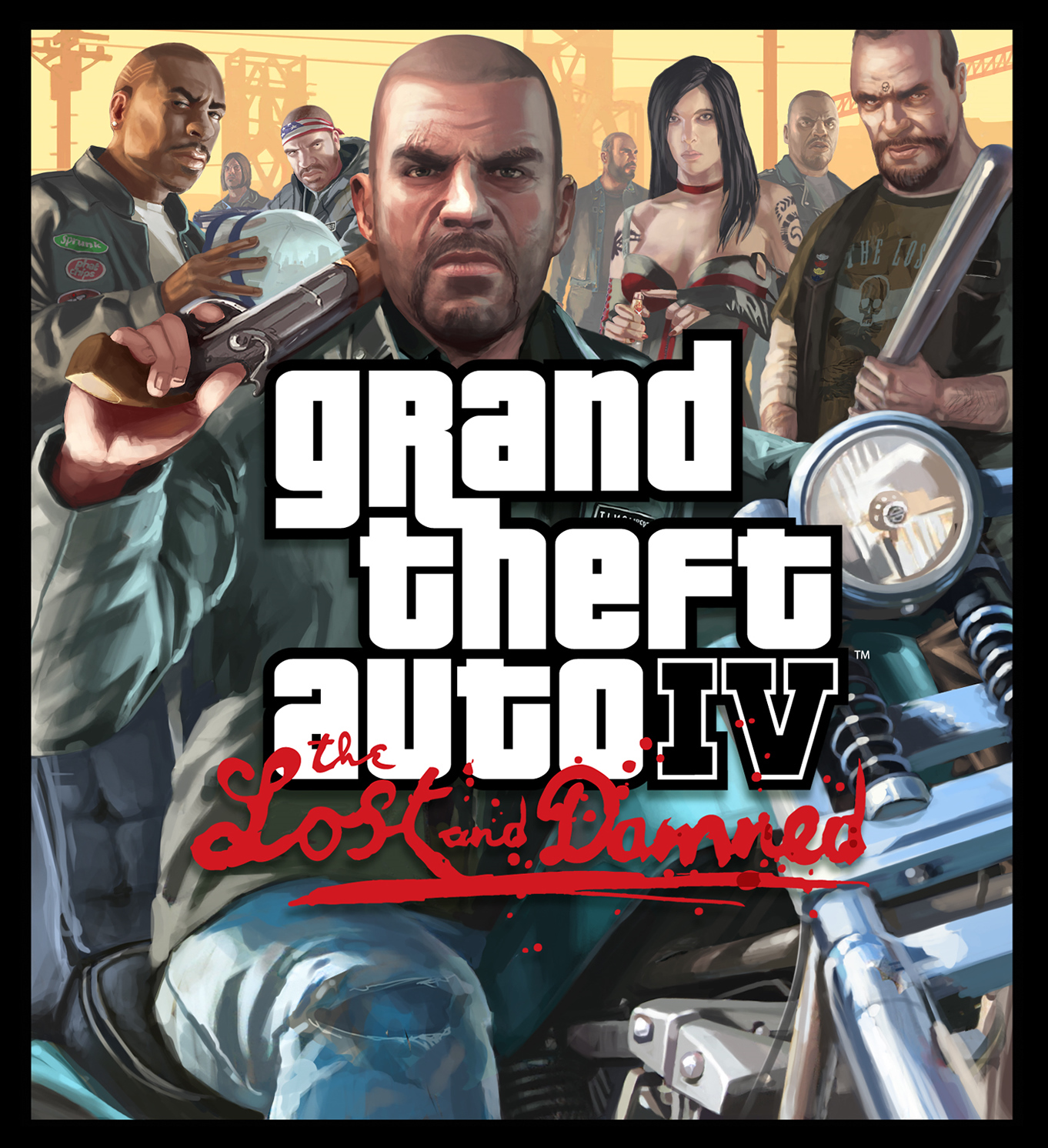 GTA 4 The Lost and Damned Kapak