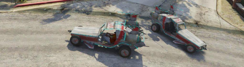 GTA 5 Space Docker