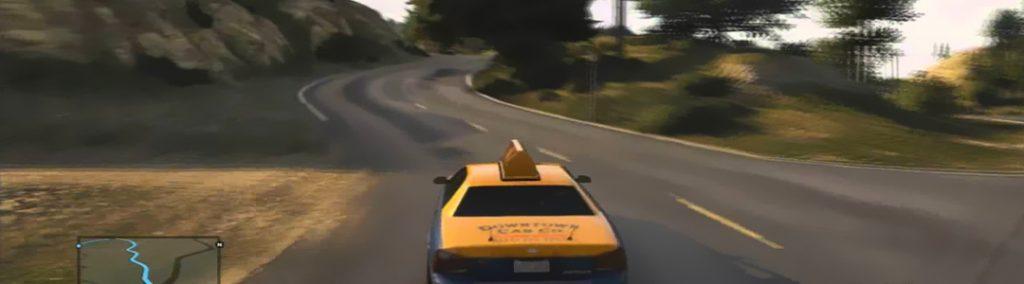 GTA 5 Taxi