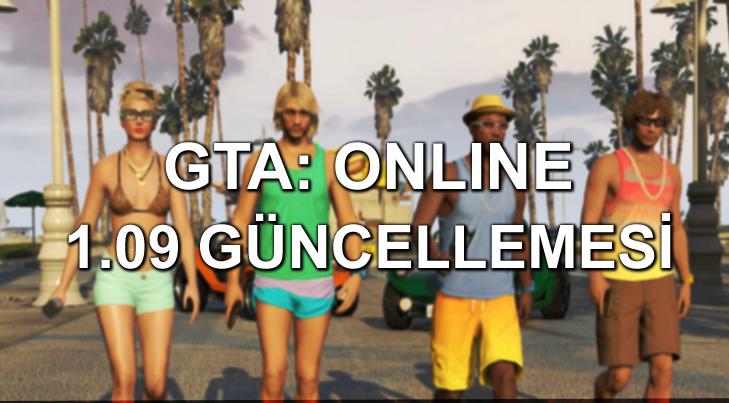 GTA Online 1 09 Guncellemesi