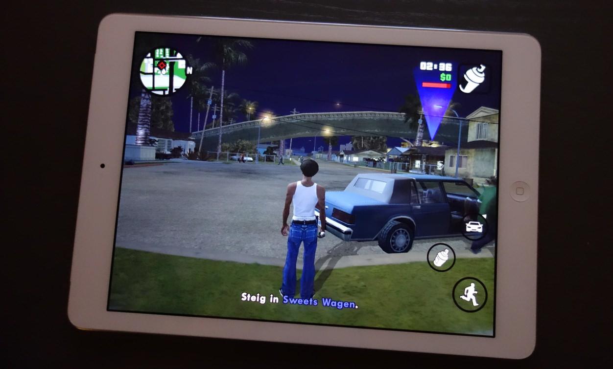GTA SA Mobil iPad