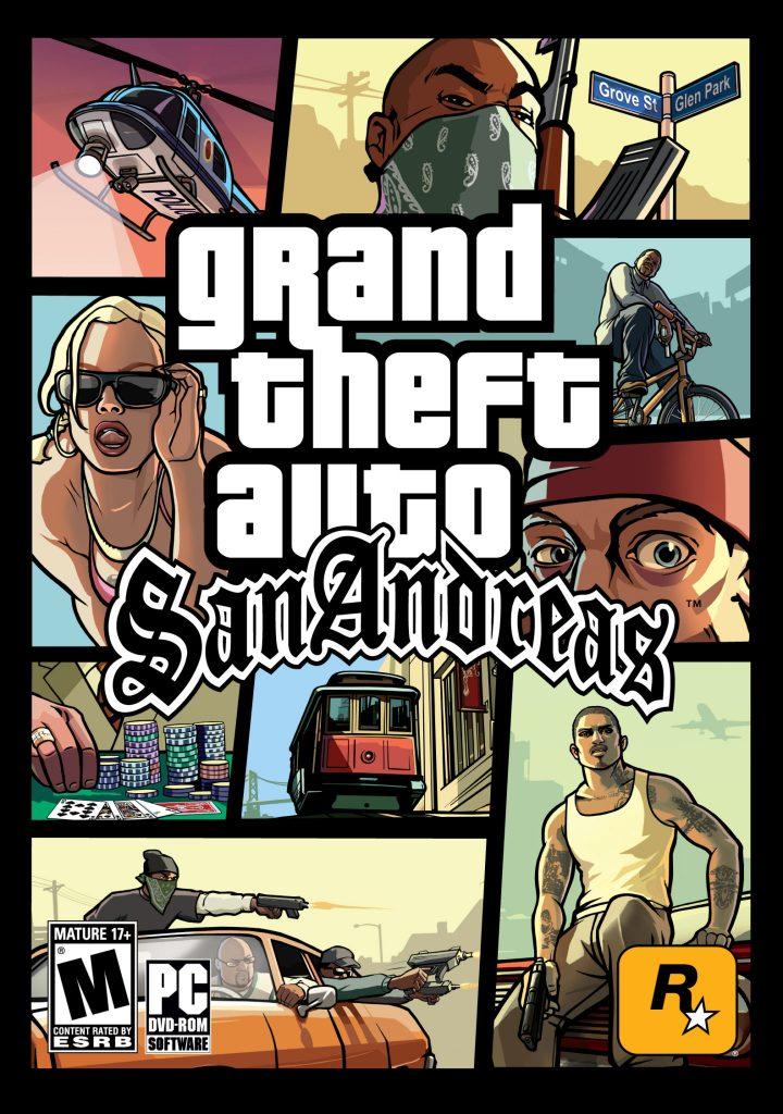 GTA San Andreas Kapak