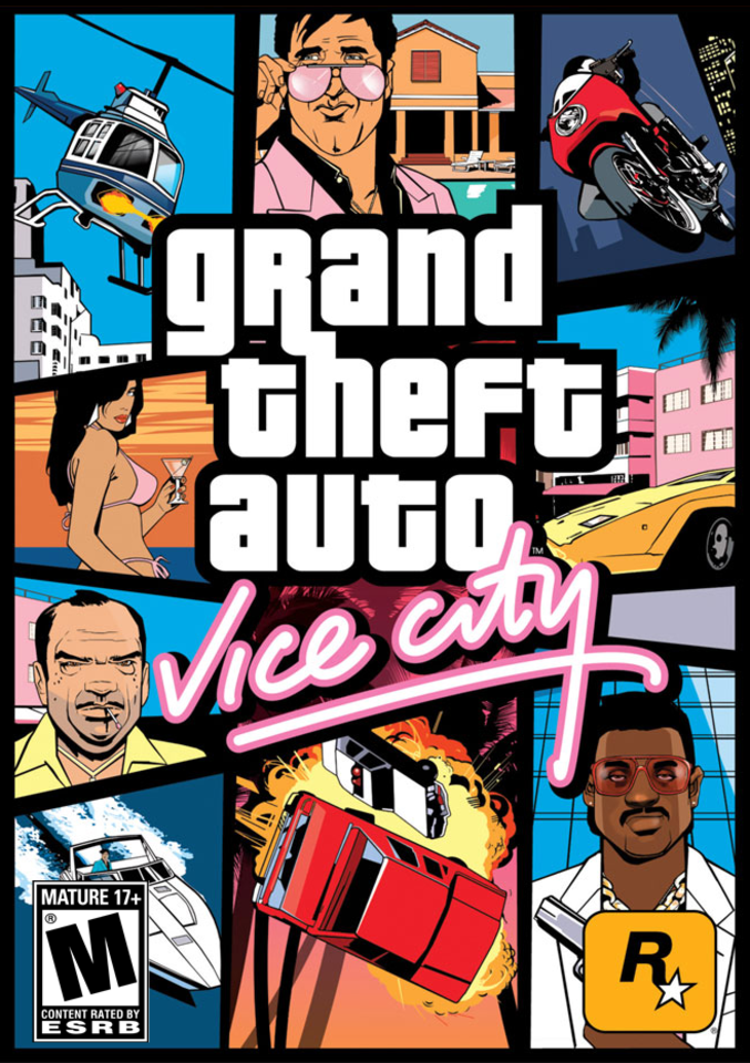 GTA Vice City Kapak