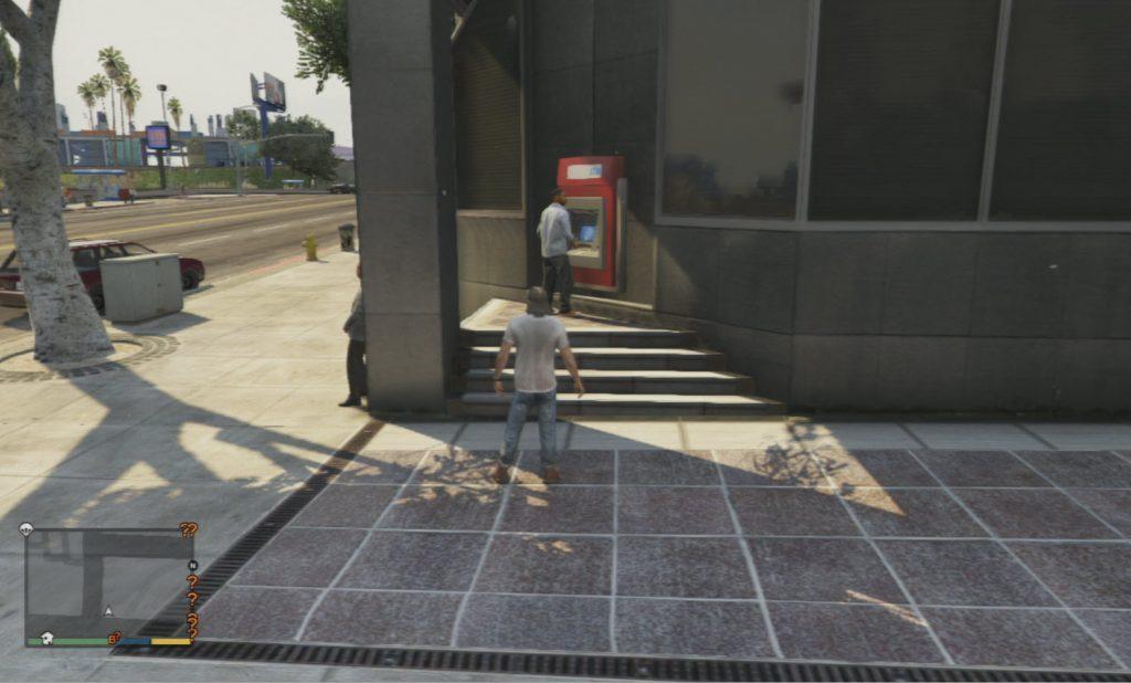 GTA 5 ATM