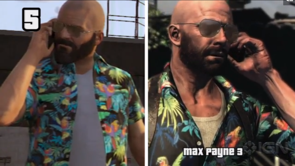 GTA 5 Max Payne