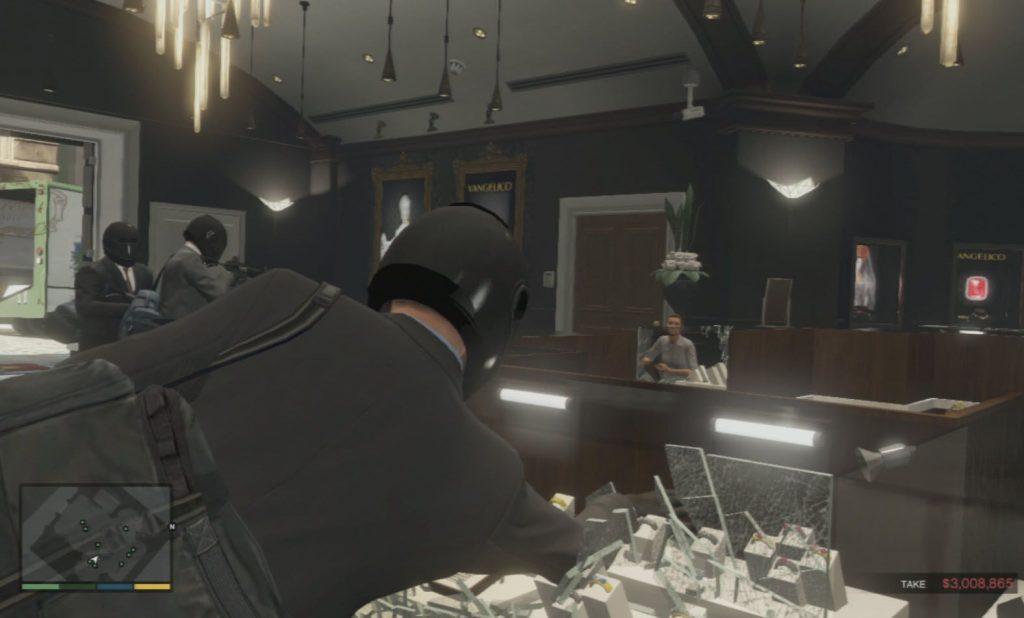 GTA 5 Mücevher Soygunu
