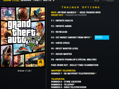 GTA5 PC Trainer
