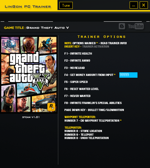 GTA 5 PC Trainer