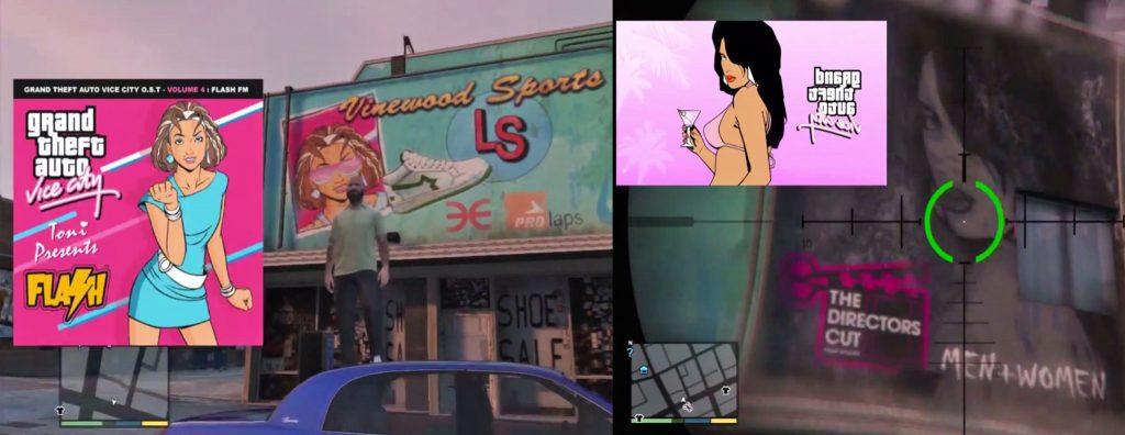 GTA 5 Vice City Billboard