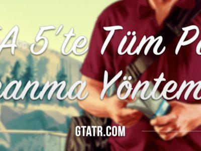 GTA5te Tum Para Kazanma Yontemleri