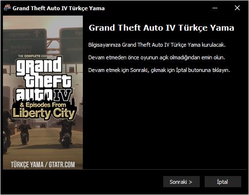 GTATR IV Türkçe Yama