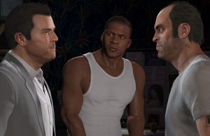 Michael De Santa, Franklin Clinton ve Trevor Philips