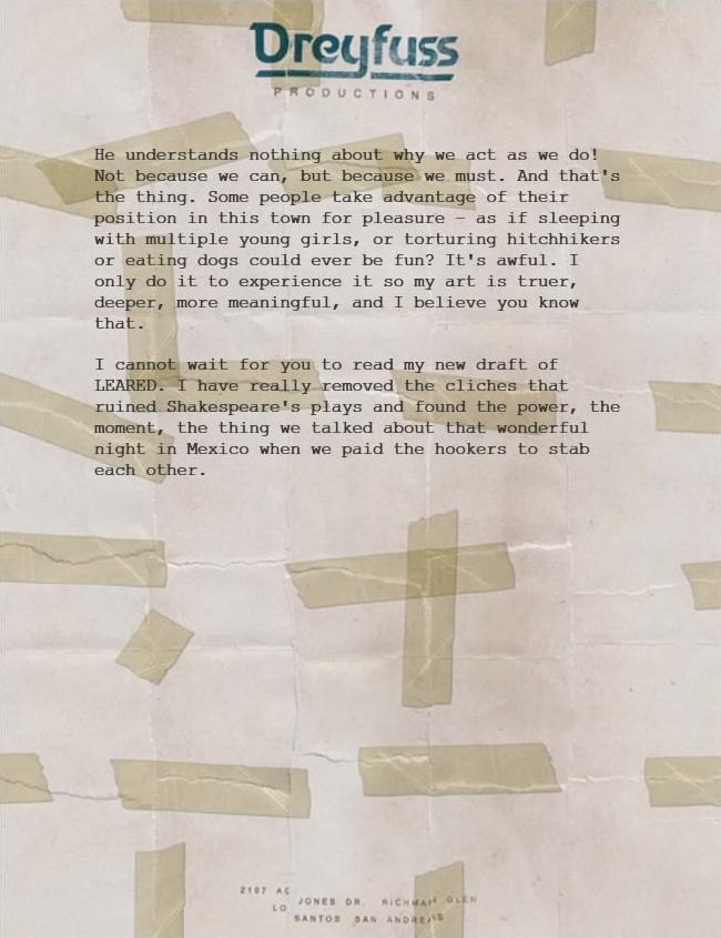 Letter Scraps Mektup EN 3