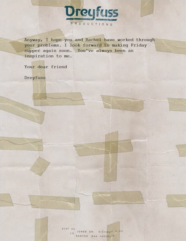 Letter Scraps Mektup EN 4