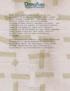 Mektup Sayfası 3