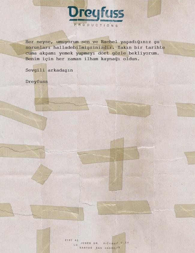 Letter Scraps Mektup TR 4