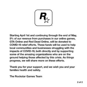 Rockstar COVID19 2